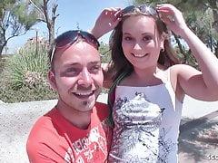 German Teen Seduce to Porn Casting at Holiday on Mallorca