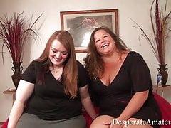 Casting Paige and Khandi Desperate Amateurs Milf fisting