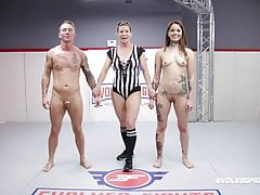 Vanessa Vega, Naked Wrestling, banged hard by Jason Michaels