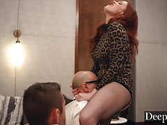 Deeper. Maitland Ward teaches her students are dark lesson
