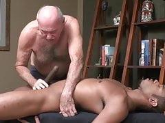 Grandpa enjoys a good cock