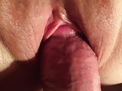 Cumming inside my wife's 45 yo mother of three's pussy